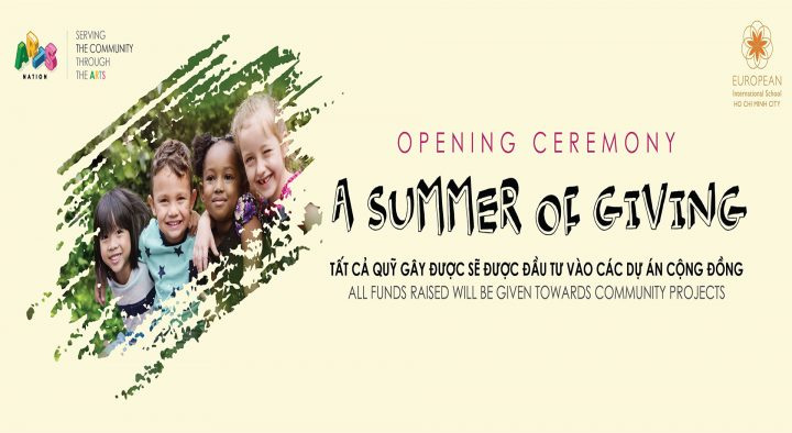 Opening Ceremony: A Summer of Giving
